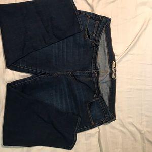 Old navy boyfriend cropped jeans